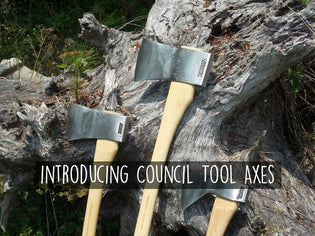 New Product Announcement – Introducing Council Tools Axes