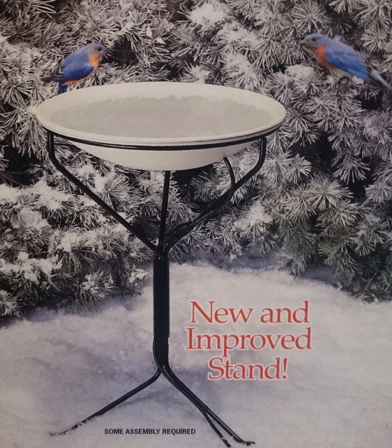 150W / 120V Heated Bird Bath with Stand