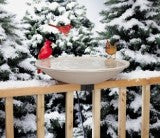 "20"" Heated Bird Bath"