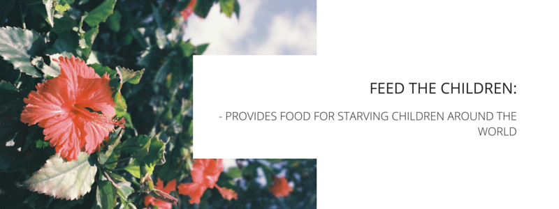 Feed the Children - PROVIDES FOOD FOR STARVING CHILDREN AROUND THE WORLD