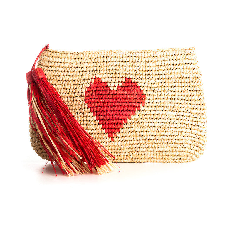 Luv. Heart Clutch