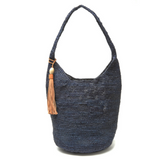 Woven Raffia hobo bag from Mar Y Sol, a stylish way to keep summer with you year 'round