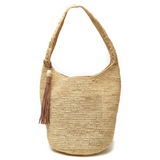 woven 100% raffia hobo bag from Mar Y Sol, the perfect way to keep summer with you all year long