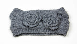 100% Acrylic wool cable knitted head band by Peruvian Trading Co., keep warm while still looking cool!