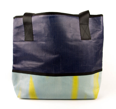Blue and Yellow Ad Bag