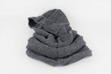 knitted 100% Acrylic wool hood and neckwarmer by Peruvian Trading Co., keep warm and fashionable this winter.