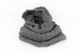 100% Acrylic wool knitted hood and neck warmer by Peruvian Trading Co., a versatile way to keep warm this winter