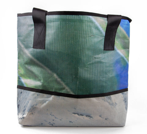 Green and Grey Ad Bag