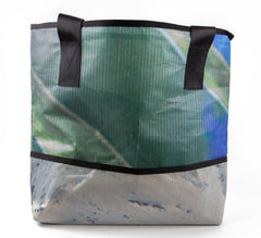 100% up-cycled vinyl tote bag by Alchemy Goods, eco-friendly tote bag at its most fashionable.
