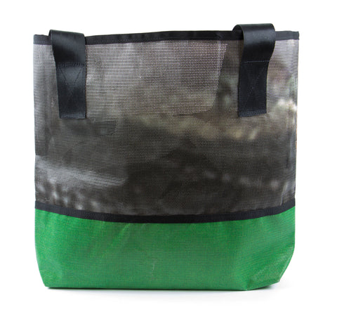 Black and Green Ad Bag