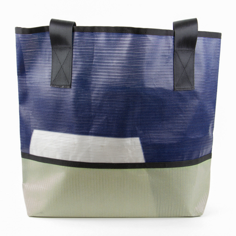 Blue and Grey Ad Bag