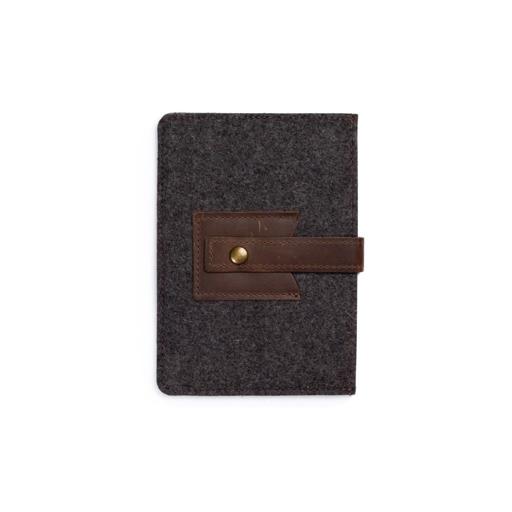 Felt-Wool and Leather mini tablet Sleeve