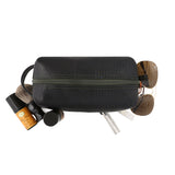100% recycled toiletries bag by Alchemy Goods, perfect for grooming, beard and bath products.