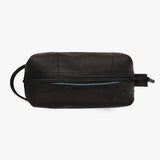100% recycled toiletries bag by Alchemy Goods, a durabe and timeless to keep your grooming products safe and contained