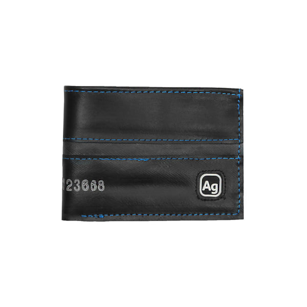 100% recycled bi-fold wallet by Alchemy Goods, a simple, eco-friendly way to keep you cards and bills in order