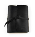 Flap-Tie Leather Journal