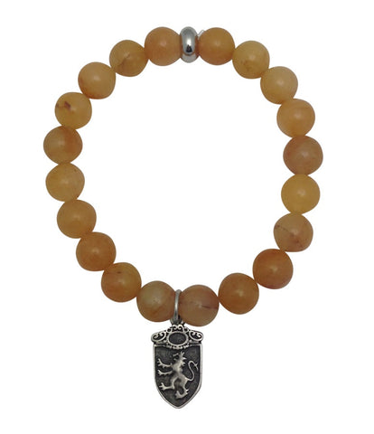 Mens Yellow Aventurine Bracelet - Game of Thrones