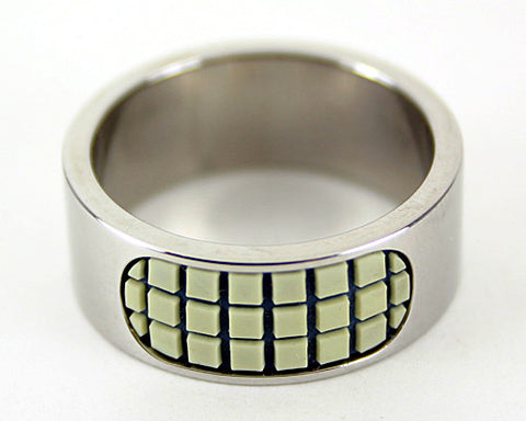 Men's Grid Ring