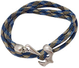 Men's Nautical Bracelet Anchor Hook