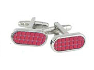 Men's Formula Red Cufflinks
