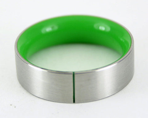 Men's Design Ring - Green