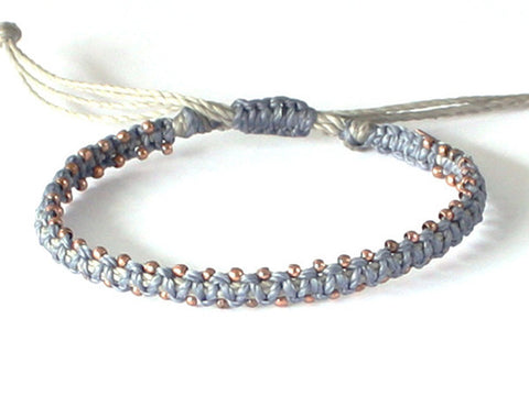 Men's Star Bracelet - Denim Blue