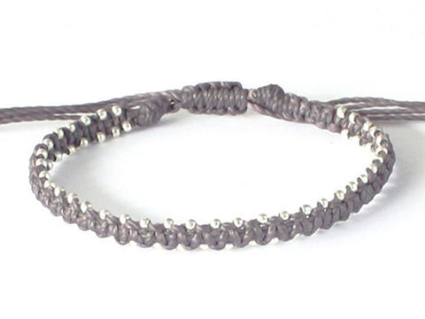 Men's Star Bracelet - Grey