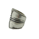 Silver Saddle Ring