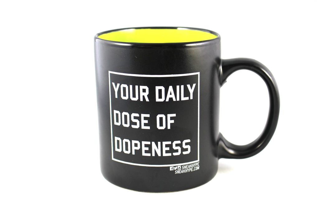 """Your Daily Dose of Dopeness"" Mug"
