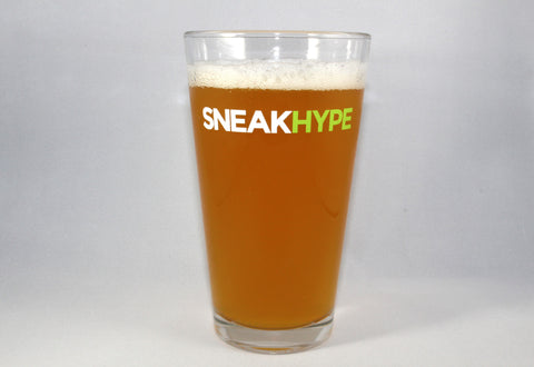 Sneakhype Logo 2.0 Pint Glass - Pair of 2