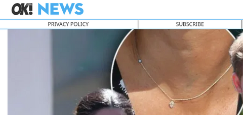 Meghan Markle Wearing $550 Evil Eye Necklace On Royal Tour