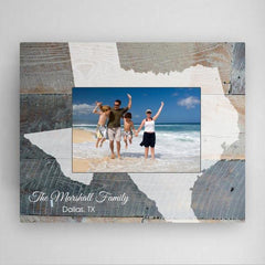 Personalized State Picture Frame