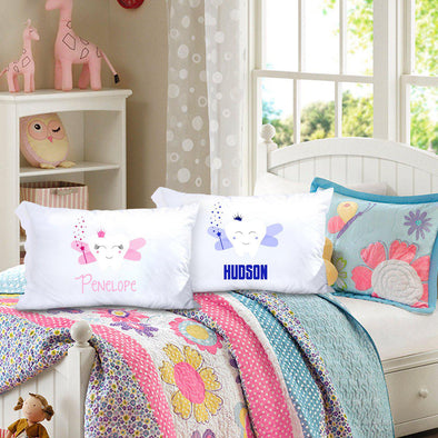 Personalized Kids Tooth Fairy Pillowcase -  - JDS
