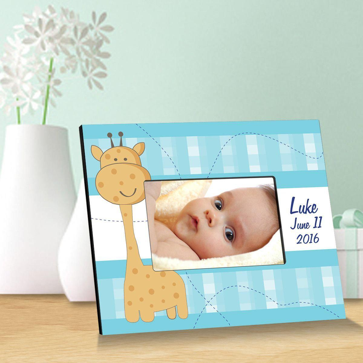 Personalized Baby Giraffe Childrens Picture Frame