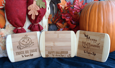 Personalized Halloween 6x8 Bar Boards -  - Qualtry