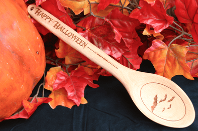 Personalized Haunted Halloween Spoons -  - Qualtry