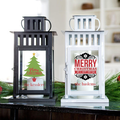 Personalized Christmas Lanterns -  - Qualtry