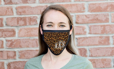 Personalized Reusable Face Coverings – Animal Print Collection -  - Qualtry
