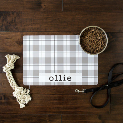 Personalized Pet Placemats - Farmhouse Collection -  - Qualtry