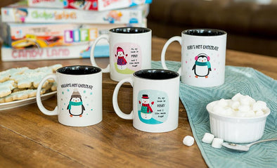 Personalized Children's Hot Chocolate Mugs -  - Qualtry