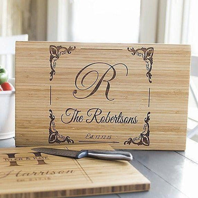 Personalized 11x17 Bamboo Cutting Board -  - Qualtry