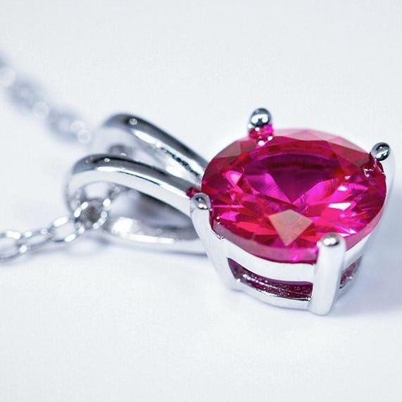 Ruby Pendant (1.2 Carat Total Weight)