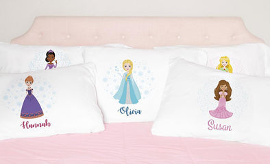 Personalized Kids Pillowcases (Princess) -  - Qualtry