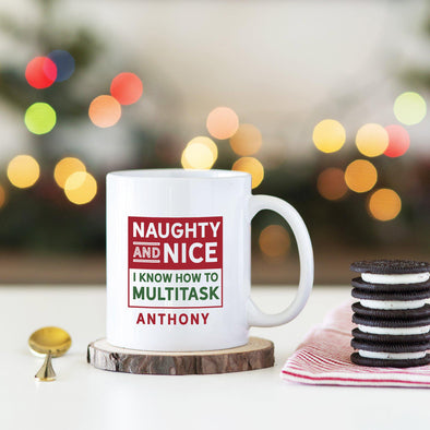 Personalized Festive Holiday Mugs -  - Qualtry