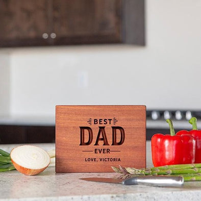 Personalized Mahogany Cutting Boards for Dad -  - Qualtry