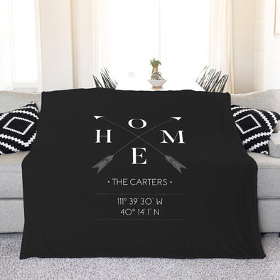 Personalized Plush Throw Blanket – Home Design -  - Qualtry