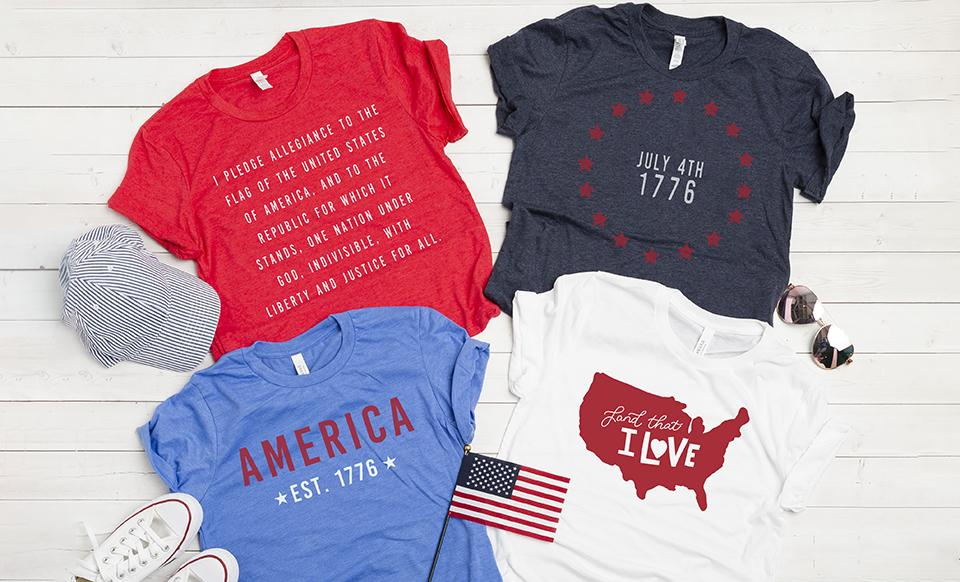 Personalized Patriotic T-Shirts