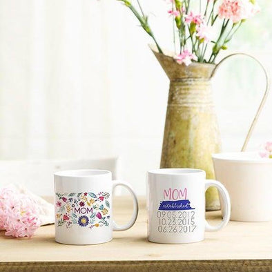 Personalized Mom Life Mugs -  - Qualtry