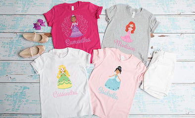Princess T-Shirt Collection -  - Qualtry