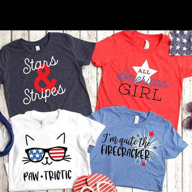All American Kids T-Shirts -  - Qualtry